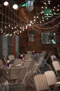 Kim Nix captures the details of the wedding venue, The Barn at Fillauer Lakehouse.