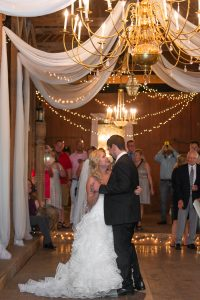 Couples dancing at Fillhauer Lakehouse in Cleveland TN