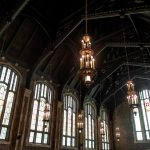 Patton Chapel ceiling by photographer, Kim Nix in Chattanooga.
