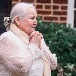 Chattanooga photographer takes photographs of grandmother at Patton Chapel.