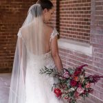 Bride photographed at Patton Chapel by photographer Kim Nix in Chattanooga.